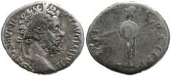 Ancient Coins - Septimius Severus 193-211AD denarius - Minerva