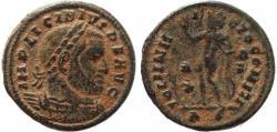 Ancient Coins - Roman coin of Licinius I - SOLI INVICTO COMITI - Rome