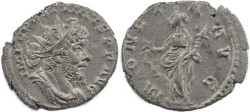 Ancient Coins - Postumus silvered antoninianus - MONETA AVG