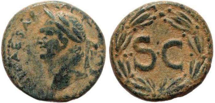 Ancient Coins - Roman coin of Vespasian - Syria, Seleukis and Pieria. Antioch