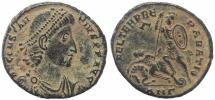 Ancient Coins - Super Roman coin of Constantius II Ae2 - FEL TEMP REPARATIO - Antioch Mint