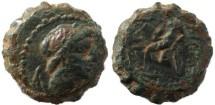 Ancient Coins - Seleucid Kingdom Antiochus IV - Apollo