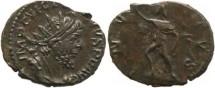 Ancient Coins - Roman Britain - Victorinus 268-270AD AE Antoninianus Cologne Mint