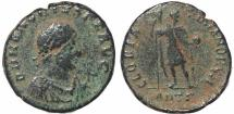 Ancient Coins - Roman coin of Honorius - GLORIA ROMANORVM - Antioch
