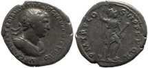 Ancient Coins - Trajan Denarius - Obverse - IMP CAES NER TRAIANO OPTIM AVG GER DAC PARTHICO