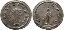 Ancient Coins - Gallienus Antoninianus - GENIO AVG - Göbl 1631c