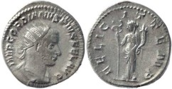 Ancient Coins - Gordian III 238-244AD silver antoninianus - FELICIT TEMP