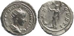 Ancient Coins - Gordian III 238-244AD Antoninianus - PAX AVGVSTI