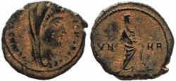 Ancient Coins - Posthumous struck roman coin of Constantine I - Antioch Mint
