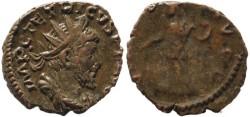 Ancient Coins - Tetricus Ae Antoninianus - VIRTVS AVGG