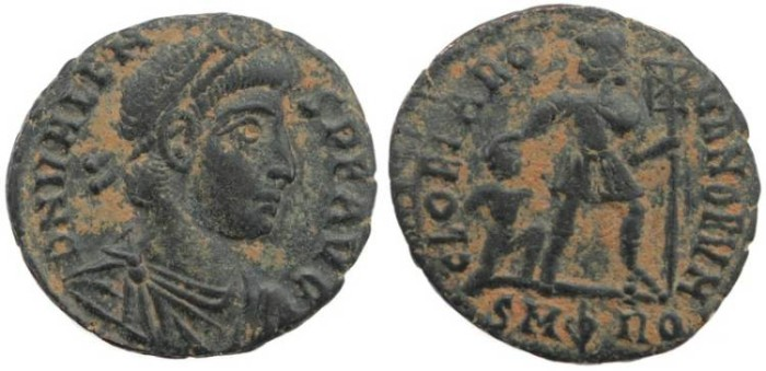 Ancient Coins - Valens - GLORIA ROMANORVM - Rome Mint