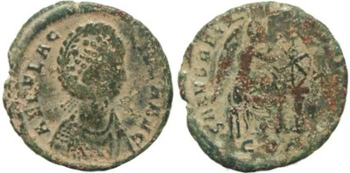 Ancient Coins - Roman Empire - Aelia Flaccilla - Constantinople Mint - Ae22