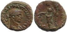 Ancient Coins - Roman Egypt - Diocletian and Dikaiosyne