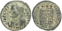 Ancient Coins - Roman coin of Licinius I - PROVIDENTIAE AVGG - Heraclea Mint