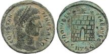 Ancient Coins - Ancient Roman coin of Constantine I - PROVIDENTIAE AVGG - Thessalonica
