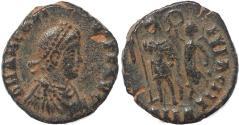 Ancient Coins - Roman coin of Arcadius - VIRTVS EXERCITI - Alexandria