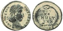 Ancient Coins - Roman coin of Constantius II - VOT XX MVLT XXX - Cyzicus