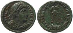 Ancient Coins - Roman coin of Valentinian I - SECVRITAS REIPVBLICAE - Siscia