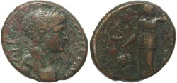 Ancient Coins - Trajan Ae23 from Tabae, Caria