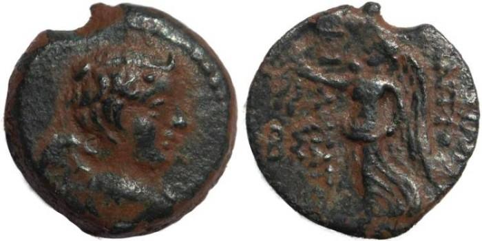 Ancient Coins - Seleucid Kings of Syria - Antiochus IX Kyzikenos - Nike