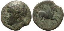Ancient Coins - Sicily, Syracuse, Time of Timeoleon, 345-317 BC