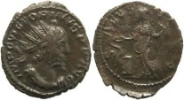Ancient Coins - Roman Britain Victorinus 268-270AD AE Antoninianus Cologne Mint