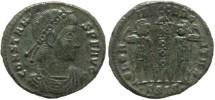 Ancient Coins - Roman coin of Constans - GLORIA EXERCITVS - Siscia