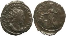 Ancient Coins - Roman Britain Victorinus 268-270AD AE Antoninianus Cologne Mint