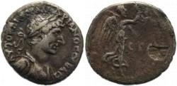 Ancient Coins - Hadrian AR Hemidrachm Cappadocia Caesaria