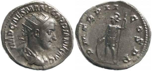 Ancient Coins - Gordian III 238-244AD Antoninianus - Mars