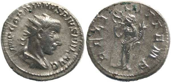 Ancient Coins - Gordian III 238-244AD Antoninianus - FELICIT TEMP