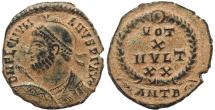 Ancient Coins - Choice Roman coin of Julian II The Apostate - VOT X MVLT XX