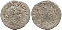 Ancient Coins - Roman Provincial coin of Caracalla AR Tetradrachm of Antioch, Syria