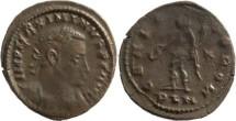 Ancient Coins - Maximinus II AE Follis - GENIO POP ROM - London Mint