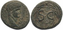 Ancient Coins - Nero AE19mm of Antioch Syria 54-68AD