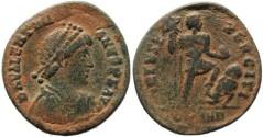Ancient Coins - Valentinian II - VIRTVS EXERCITI