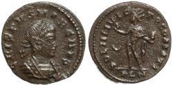 Ancient Coins - Roman coin of Crispus - SOLI INVICTO COMITI - London