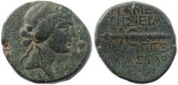 Ancient Coins - Syria, Seleukis and Pieria, Apameia - Dionysos & Thyrsos