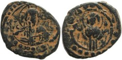 Ancient Coins - Byzantine Anonymous Class K follis attributed to Alexius I