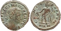Ancient Coins - Licinius I - GENIO POP ROM - London Mint