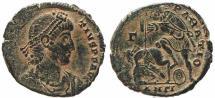 Ancient Coins - Roman coin of Constantius II Ae2 - FEL TEMP REPARATIO - Antioch Mint