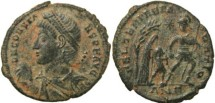 Ancient Coins -  Roman coin of Constans cententionalis - FEL TEMP REPARATIO - Antioch Mint