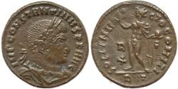 Ancient Coins - Roman coin of Constantine I - SOLI INVICTO COMITI - Rome Mint