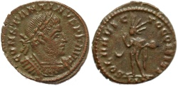 Ancient Coins - Roman coin of Constantine I - SOLI INVICTO COMITI