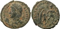 Ancient Coins -  Roman coin of Constans cententionalis - FEL TEMP REPARATIO - Antioch Mint