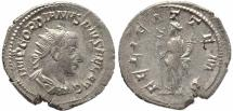 Ancient Coins - Roman coin of Gordian III AR silver antoninianus - FELICIT TEMP