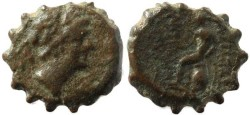 Ancient Coins - Seleucid Kingdom Antiochus IV - Apollo