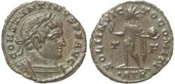 Ancient Coins - Ancient Roman coin of Constantine I - SOLI INVICTO COMITI - Treveri Mint