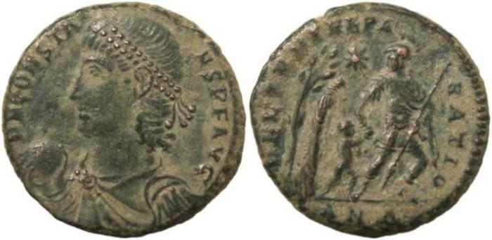 Ancient Coins - Constans cententionalis - FEL TEMP REPARATIO - Antioch Mint