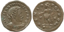 Ancient Coins - Roman coin of Maximian - GENIO POP ROM - Treveri
